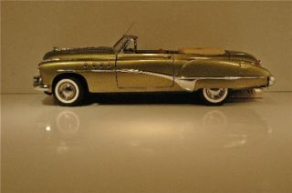 Franklin Mint 1949 Buick Roadmaster Convertible   Gala Green