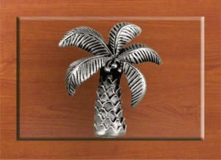 Functional Fine Art Cabinet Hardware   Palm Tree Knob Cupboard