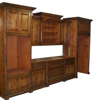 Custom Hand Carved Kitchen Cabinets Solid Wood
