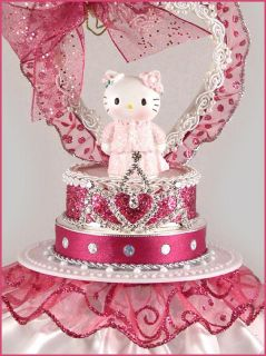 Hello Kitty Sanrio Birthday Princess Quince Cake Topper