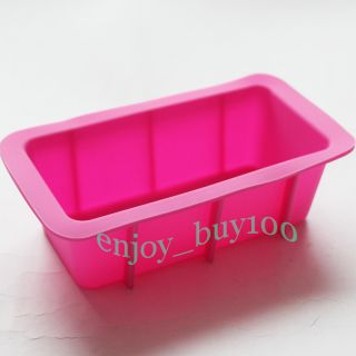 Mini Loaf Tin Bread Chocolate Cake Bakeware MOLD Silicone Mould 14x7x4