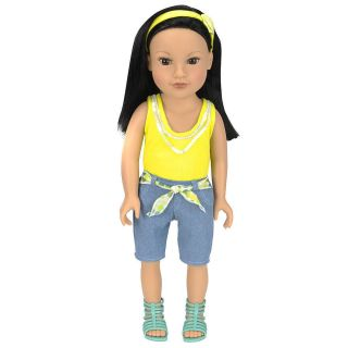 Journey Girls 18 inch Soft Bodied Doll   Callie (Yellow Shirt)