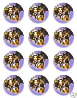 Wizard of oz Edible Icing Image Cookie Cupcake Toppers