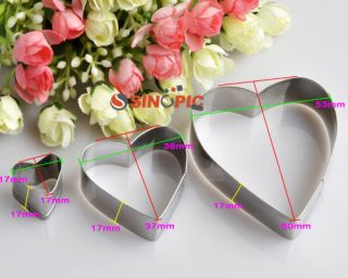 New Geometric Shaped Metal Cutter Mold Decoration Too for Cookie