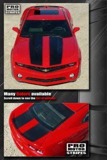 Chevrolet Camaro Bumblebee Transformers Racing Stripes 2010 2011 2012