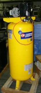 Campbell Hausfeld air compressor 60 gal 3HP 240V Single Phase