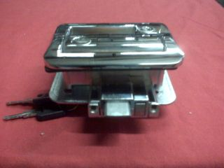 Fastec RV camper Chrome Entry Door Lock Travel Trailer