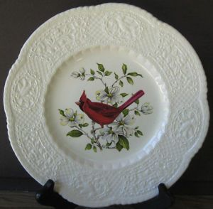Royal Cauldon Cardinal Bird 1 Collectible Plate Henry