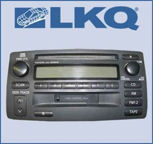 04 2004 Toyota Corolla Single Disc CD Cassette Player Radio