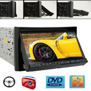 Motorizd Touch Screen CD DVD Car Player Indash Stereo