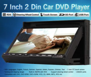 Screen in Dash Car Stereo DVD Player Hitachi CD Head Camera