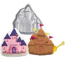 Enchanted Castle Shaped Haunted Novelty Birthday Cake Pan