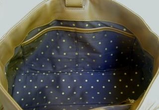 Carmel Brown Soft Leather Kate Spade Satchel Tote Bag Purse