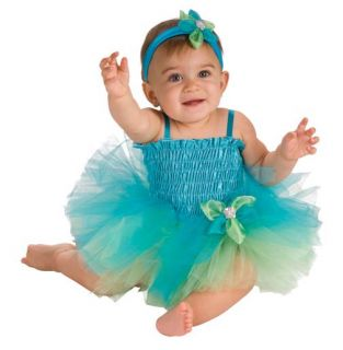 Adorable Baby Girl Tutu Dress Diaper Cover Hairband Aqua or Purple 6