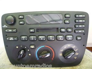 01 03 Ford Taurus Mercury Sable Radio Cassette Player