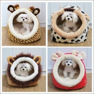 Various Indoor Pet Dog Cat House Tent Bed