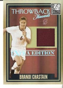 BRANDI CHASTAIN DONRUSS JERSEY + SPORTKING MINI   ALEX MORGAN MIA HAMM