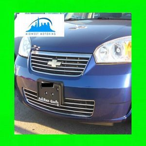 2006 2007 CHEVY CHEVROLET MALIBU CHROME TRIM FOR GRILL GRILLE W 5YR