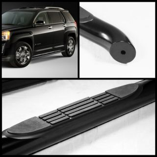 10 12 CHEVY EQUINOX/ GMC TERRAIN 3 SIDE STEP NERF BAR RUNNING BOARD