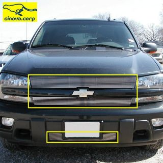 02 03 04 05 Chevy Trailblazer Billet Grille Bumper