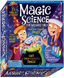 for Wizards Only Kids Educational Science of Magic Activity Kit