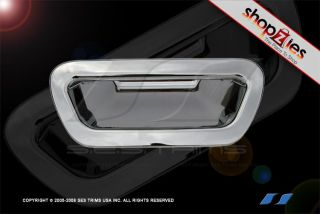 Chrysler Pacifica 2003 2012 Chrome Rear Door Tailgate Handle Cover 1pc