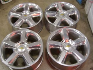 20 Chevy Tahoe Factory Alloys LTZ Wheels Silverado Suburban Wheels