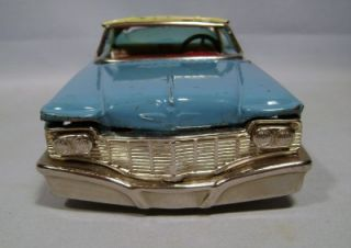 RARE 1960s Chrysler Imperial Tin Litho Friction Motor Promo Car by