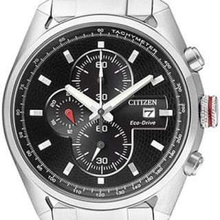 Citizen Eco Drive Mens Chronograph Watch CA0360 58E