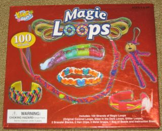 Kids Craft Kit MAGIC LOOPS Make Special Gifts for Your Friends
