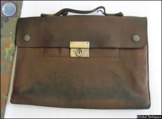 WWII ORIGINAL GERMAN STAUFFENBERG TYPE SECRET DISPATCH CASE