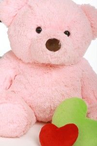Cute Cuddly Plush Pink Teddy Bear 30 Best Selling Gift