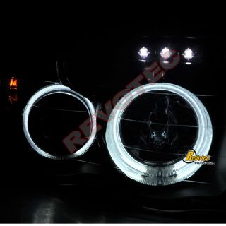 DODGE RAM CCFL HALO RIMS & LED PROJECTOR HEADLIGHTS & LED TAIL LIGHTS