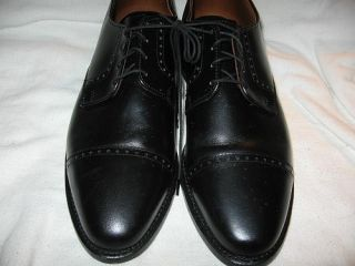 Allen Edmonds Clifton Oxfords Black Men Shoe 11 B Narrow