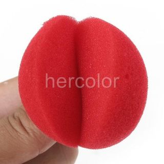 25pcs Foam Clown Nose Circus Party Halloween Costume Red