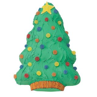 New Wilton Iridescents Christmas Holiday Tree Cake Pan