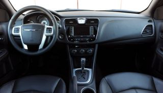 Chrysler 200 Series Touring Limited Interior Wood Dash Trim Kit 2011