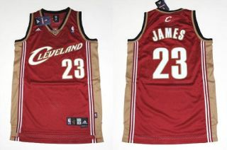 swingman cleveland cavaliers lebron james red jersey authentic adidas