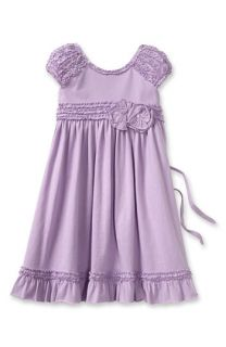 Isobella & Chloe Ruffled Cap Sleeve Dress (Little Girls)
