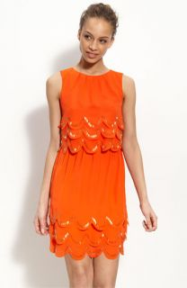 Ted Baker London Scallop Edge Dress