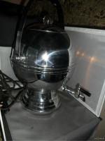 ART DECO CHROME BAKELITE Coffee PERCOLATOR ATOMIC BALL GLOBE URN POT