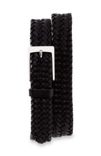 John W. ® Braided Leather Belt