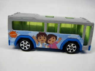 Matchbox City Bus Nickelodeon Dora Explorer VHTF B12