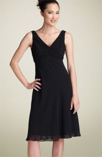 Adrianna Papell Chiffon Cocktail Dress