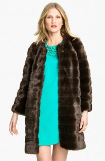 kate spade new york rossalyn faux fur coat