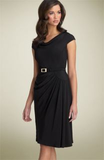 Anne Klein Dress Belted Silk Dress