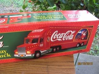 2002 COCA COLA COKE NASCAR CARRIER SEMI TRUCK  limited edition new in