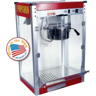 Commercial Popcorn Machine Maker 8 oz Kettle Popper Movie Theater