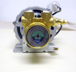 Rotary Vane Water Pump 220v Motor for Commercial Espresso Machine