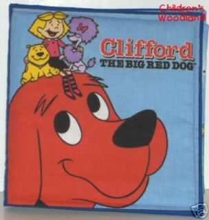 Clifford Red Dog Cloth Soft Book Kids Baby Toddlers
